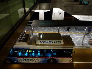 日野 ブルーリボンシティ ハイブリッドバス(名鉄)