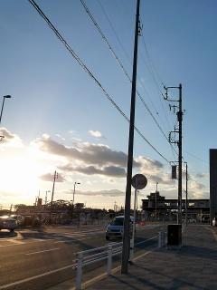 岡崎駅を振り返る