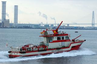 消防艇 金竜