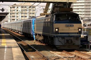 EF66+東京メトロ15000系 甲種鉄道車両輸送