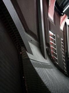 #23 XANAVI NISMO GT-Rのボンネット