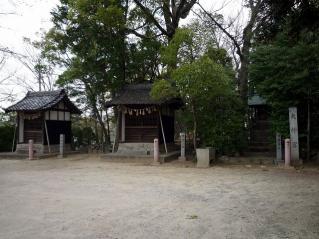 御鍬神社・天白神社・護国神社・砥鹿神社