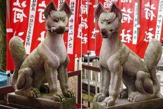 豊藤稲荷の狐