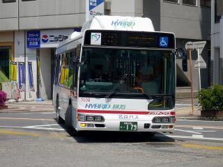 日野 ハイブリッドバス