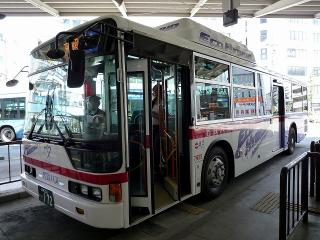 三菱 ハイブリッドバス