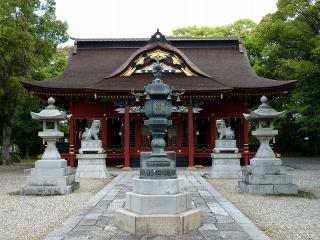 伊賀八幡宮 拝殿