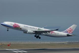 中華航空 A330-300 胡蝶蘭