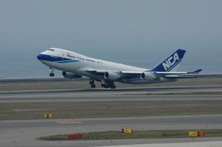 日本貨物航空 B747-400F