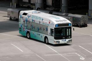 トヨタ&日野 燃料電池ハイブリッドバス FCHV-BUS