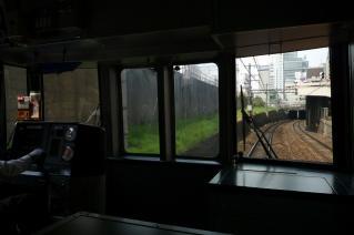 新名古屋地下トンネルに進入