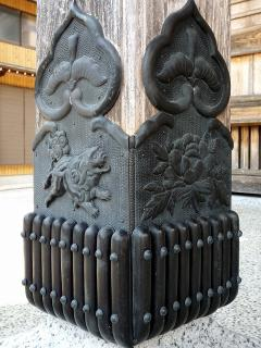 井内八幡宮の狛犬