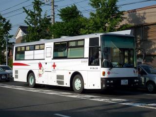 本赤十字社 愛の献血車 はくあい2号