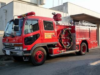 水そう付消防ポンプ自動車