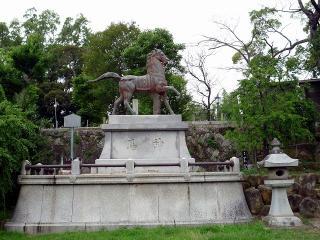 岡崎天満宮の神馬