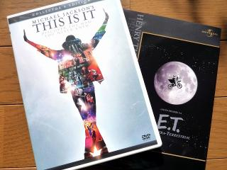 「THIS IS IT」と「E.T.」