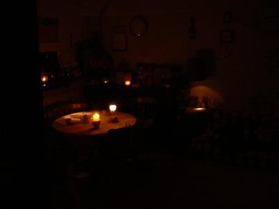 計画停電の夜 その1