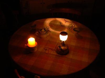 計画停電の夜 その2