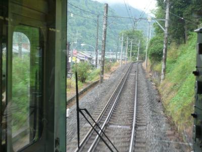 小田急線箱根湯本行き電車内