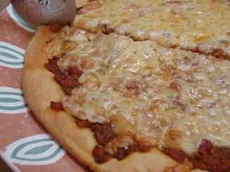 まかないピザ