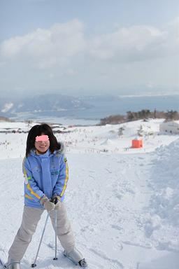 ski箱館山