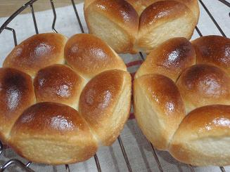 手ごねちぎりパン②