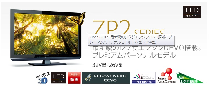 REGZA 32ZP2