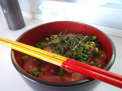 沖縄マグロ丼