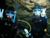 青の洞窟へ