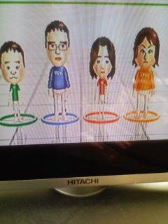 全員集合(Wii Fit)