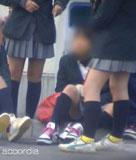 JK顔負け JCっぽい娘の激ミニ制服画像