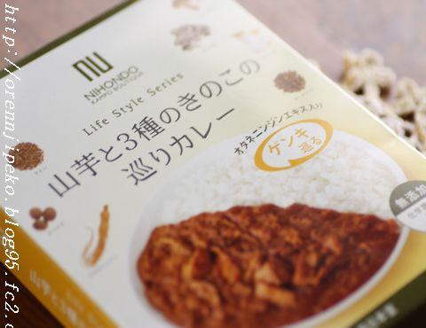 薬日本堂 オタネニンジン入り「山芋と3種のきのこの巡りカレー」