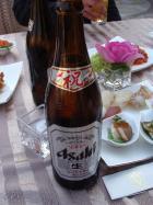 祝ビール!