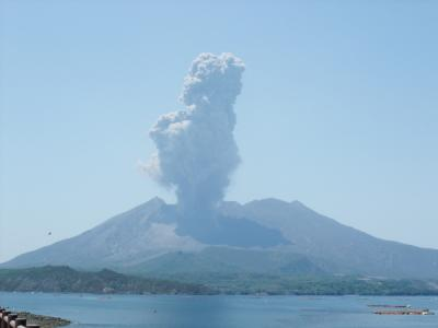 桜島噴火!