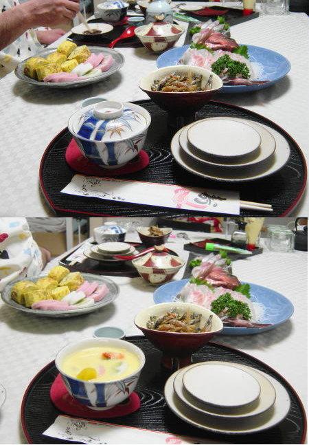 2005年、最後の夕飯