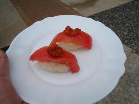 2011年6月7日トマトのお寿司