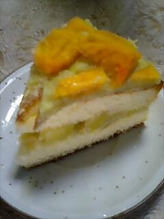 芋あんケーキ
