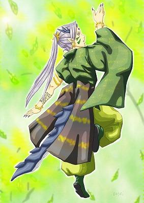 龍人演舞・新緑の舞