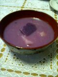 紫の味噌汁