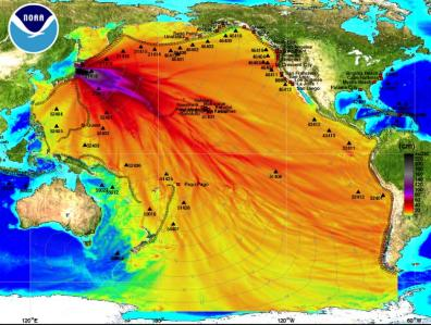 東日本大地震 津波のエネルギー Energy_plot_2011_0311