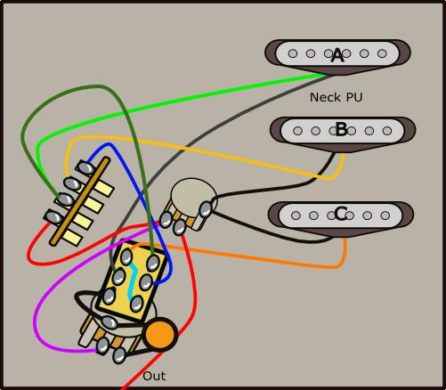 スイッチポット利用2実体配線図