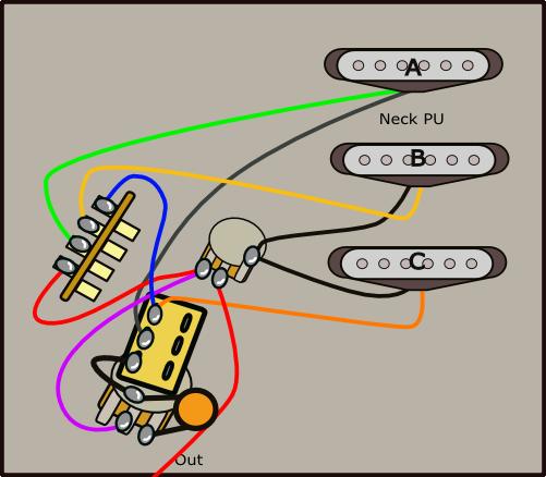 スイッチポット利用1実体配線図
