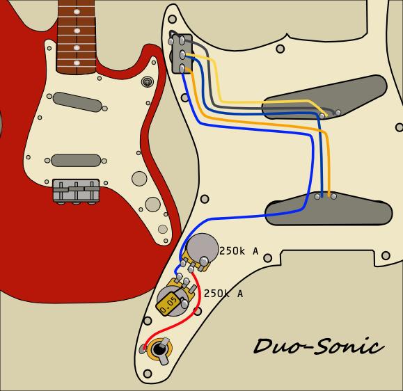 Duo-Sonic実体配線