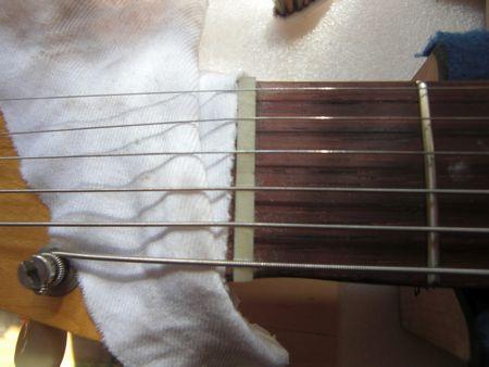 弦の間隔を設定