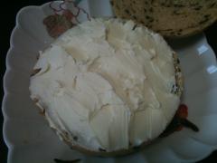 クリームチーズのせ