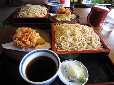 ワンコ蕎麦に再チャレンジ!!