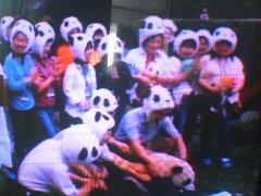 パンダ好き達