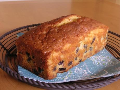 お店のパウンドケーキ
