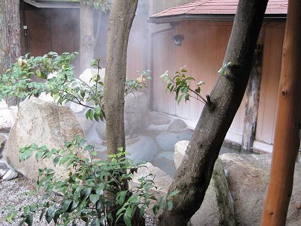 斉木別館の露天風呂
