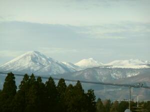 雪の八甲田