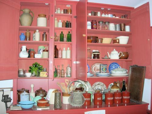 キッチンの調味料棚